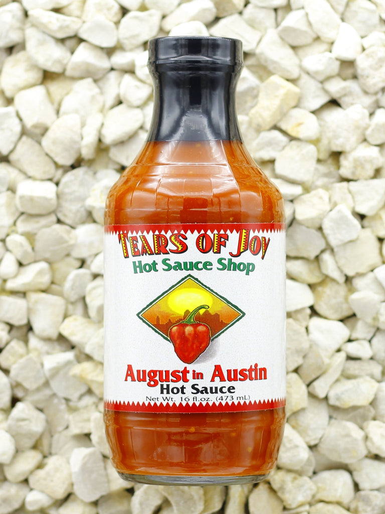 Tears Of Joy Hot Sauce Shop - August In Austin, Refill-Size 16 oz.