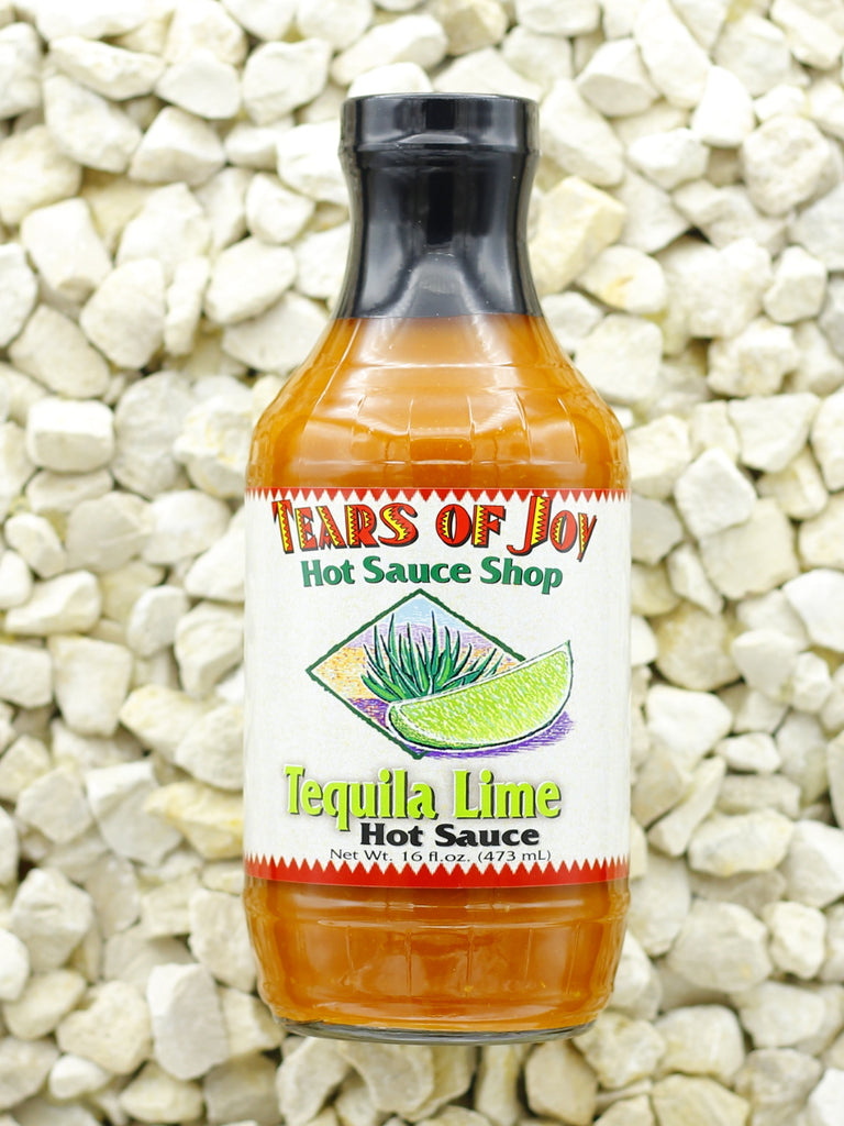 Tears Of Joy Hot Sauce Shop - Tequila Lime Hot Sauce, Refill-Size 16 oz.