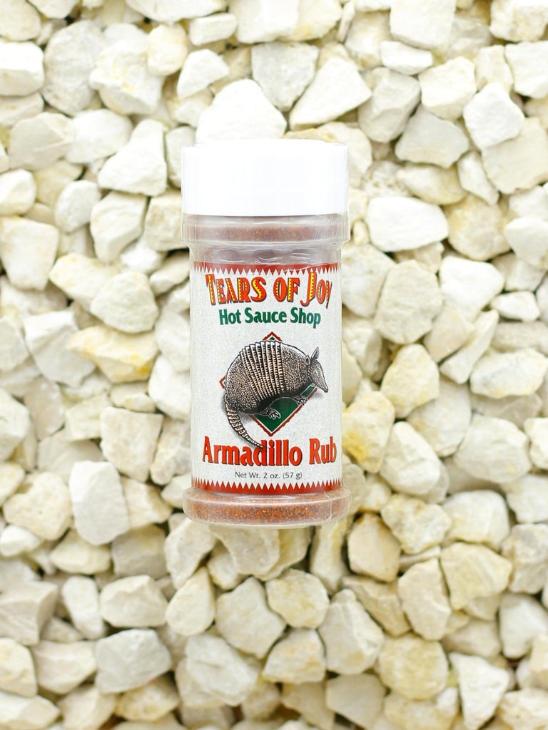 Tears Of Joy Hot Sauce Shop - Armadillo Rub