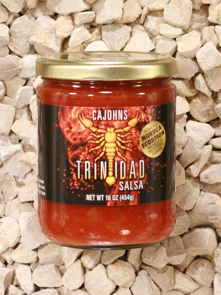 CaJohns Fiery Foods Co. - Trinidad Scorpion Salsa