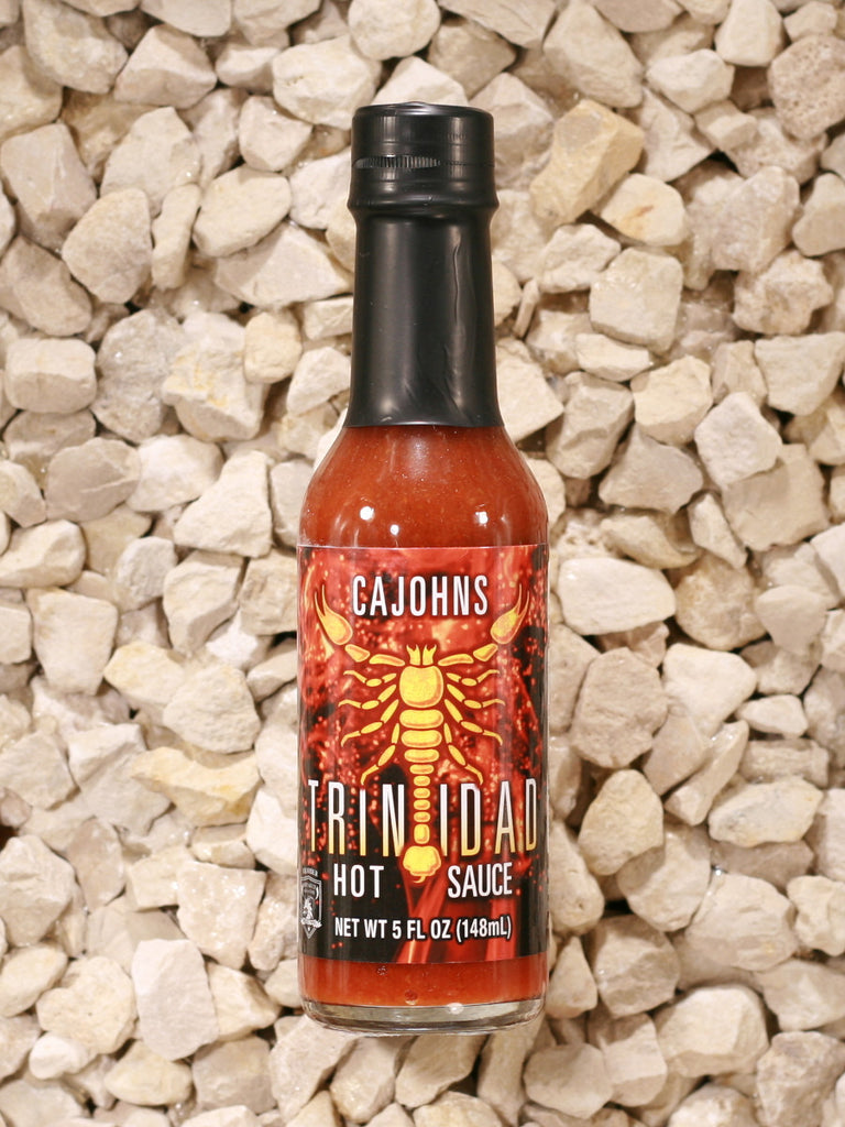 CaJohns Fiery Foods Co. - Trinidad Scorpion Hot Sauce
