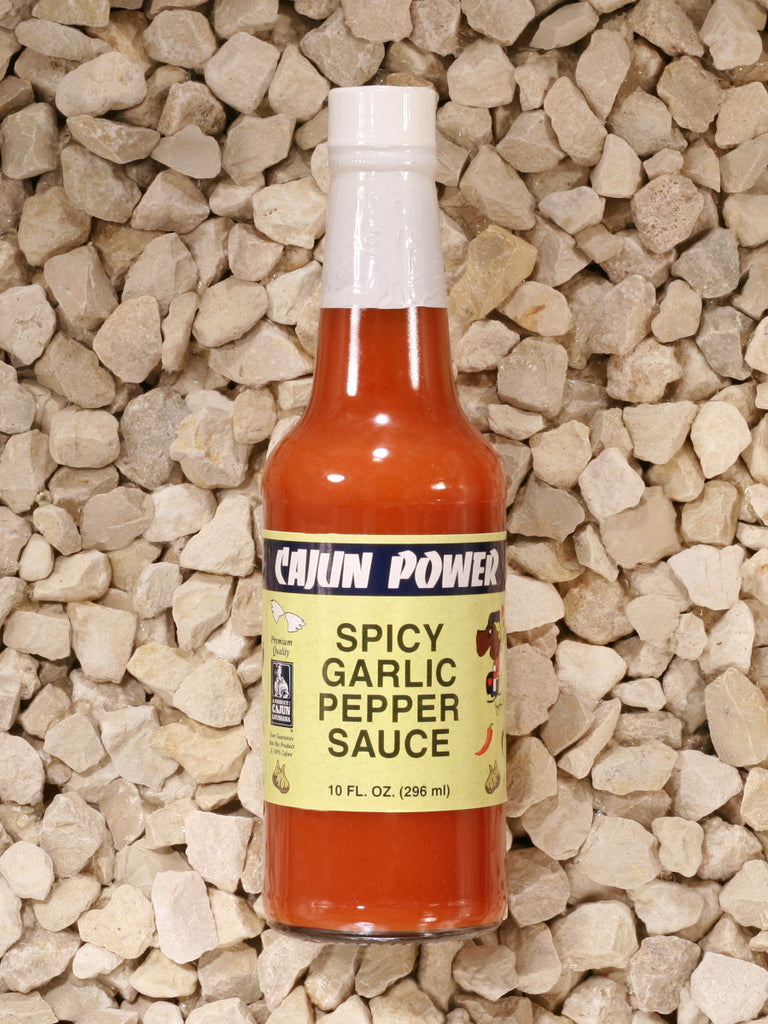 Cajun Power - Spicy Garlic Pepper Sauce