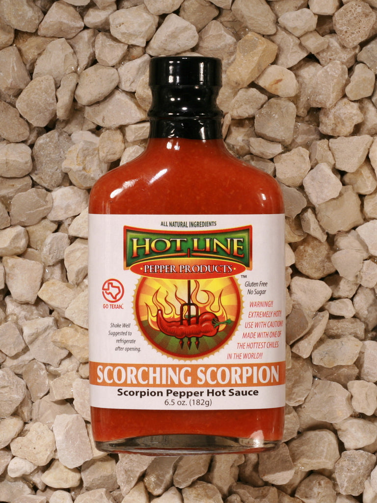 Hot Line Pepper Products - Scorching Scorpion