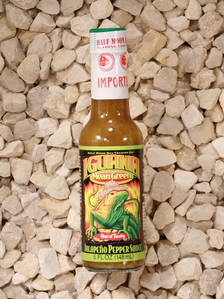 Iguana - Mean Green Jalapeño Pepper Sauce - 5 oz.