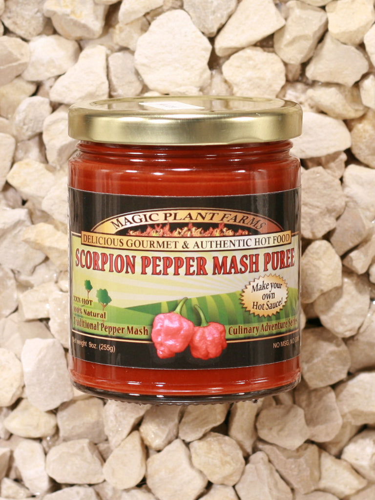 Magic Plant - Scorpion Pepper Mash Puree