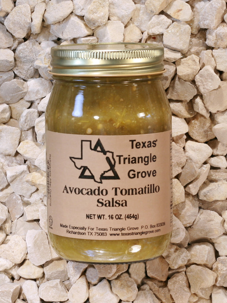 Texas Triangle Grove - Avocado Tomatillo Salsa