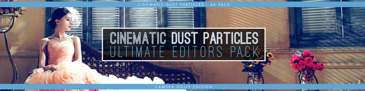 Cinematic Dust Particle Overlays