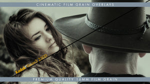 16mm Kodak Vision3 250D Premium Cinematic Film Grain Overlay