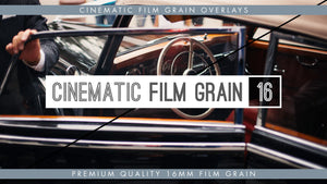 Premium 16mm Cinematic Film Grain Overlays