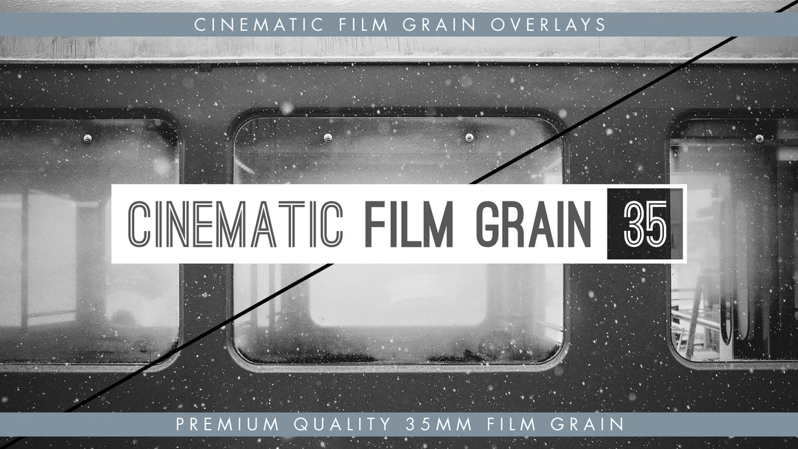 35mm Cinematic Film Grain