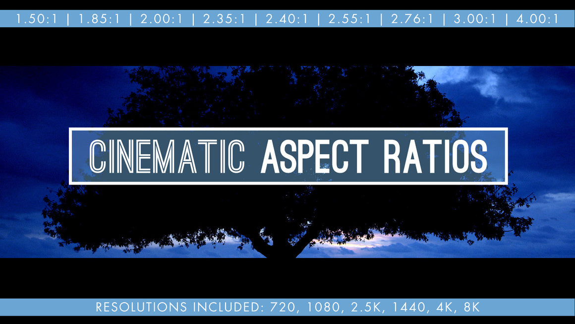 Cinematic Aspect Ratios