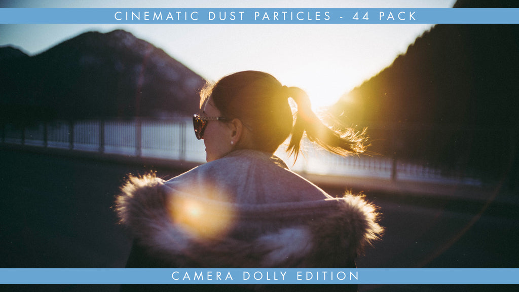 Cinematic Dust Particles Overlays Camera Dolly Edition