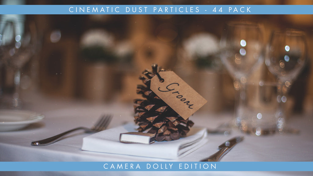 Cinematic Dust Particles Overlays 44 Pack