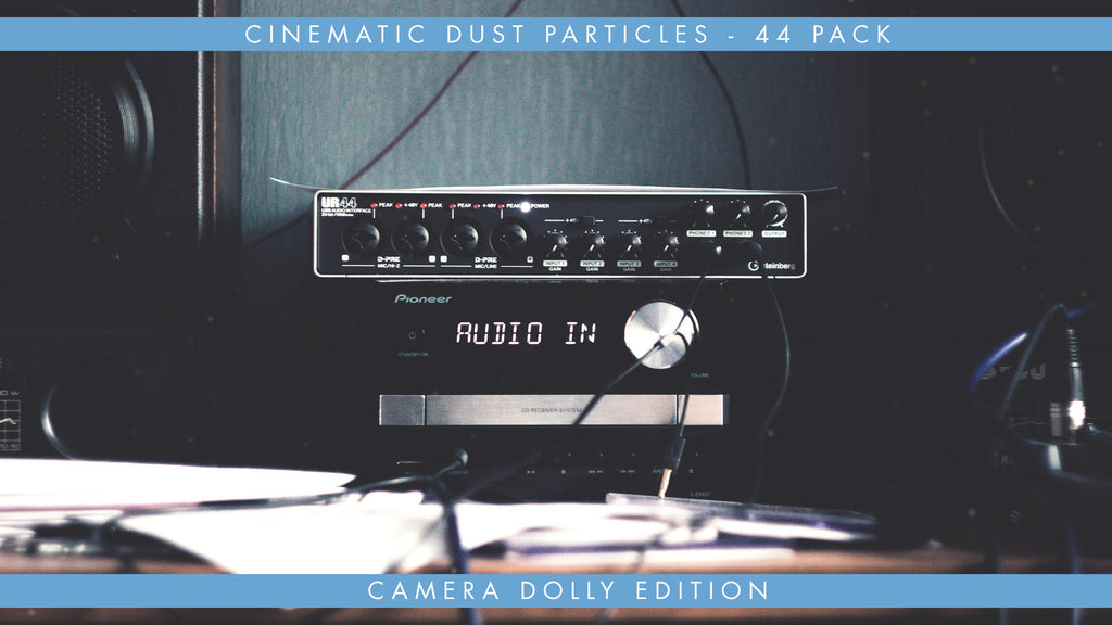 Cinematic Dust Particles Overlays Available in 4k, HD, 30 & 60fps