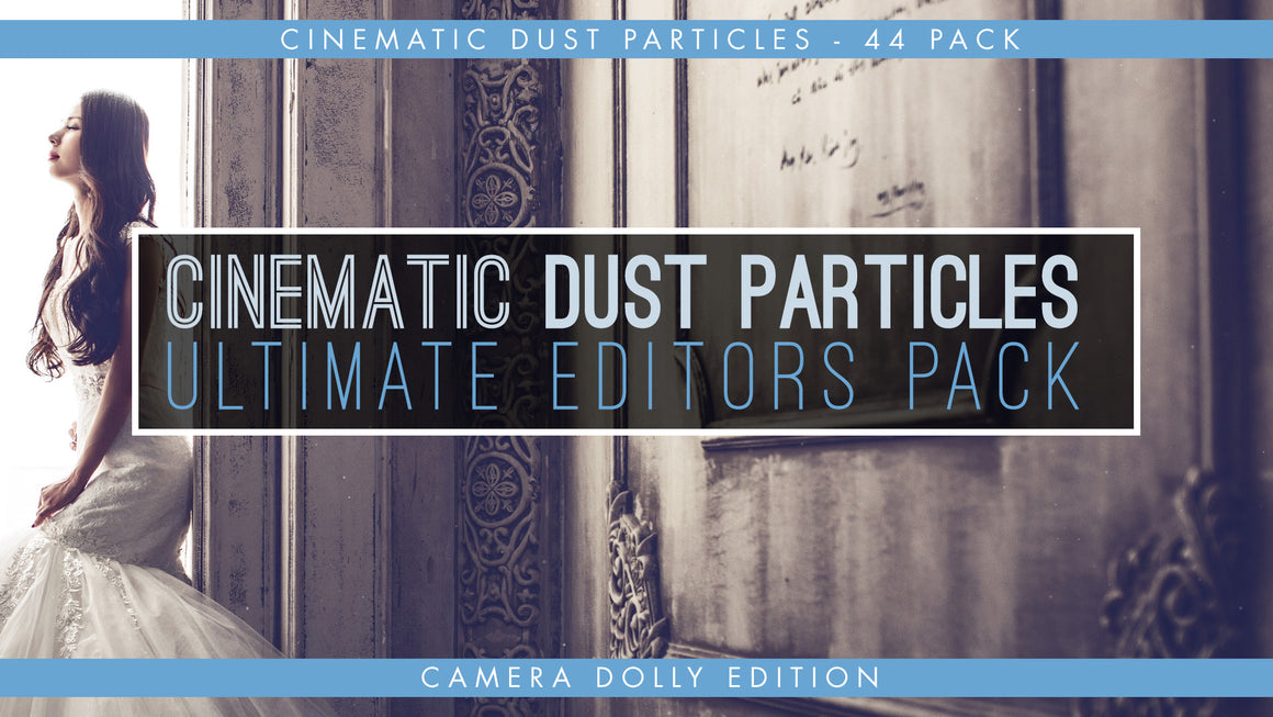 Cinematic Dust Particles Overlays