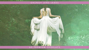 Grungy Lens Light Leaks 60 Pack
