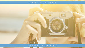 Get that Vintage Look with these Premium Light Leak Overlays