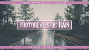 Photorealistic Rain Overlays