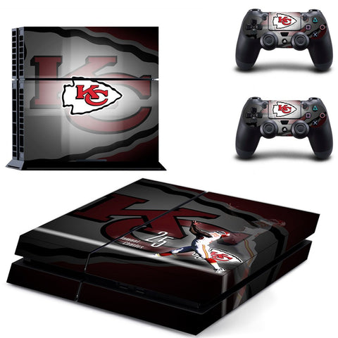 Kansas City Chiefs NFL PS4 Skin
