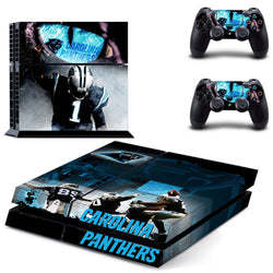 Carolina Panthers NFL PS4 Skin