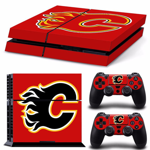 Calgary Flames NHL PS4 Skin
