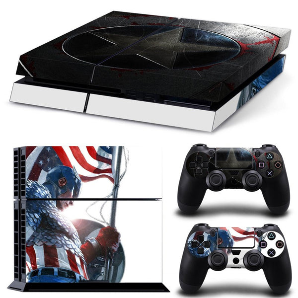 Captain America PS4 Skin