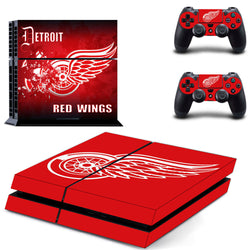 Detroit Red Wings NHL PS4 Skin
