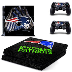 New England Patriots NFL PS4 Skin