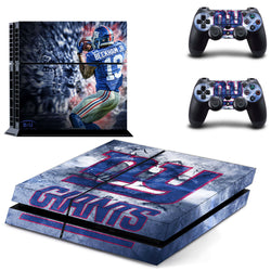 New York Giants NFL PS4 Skin