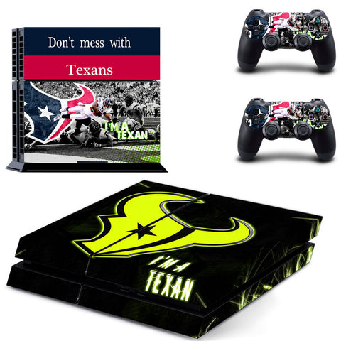 Houston Texans NFL PS4 Skin