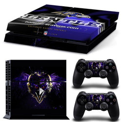 Baltimore Ravens NFL PS4 Skin