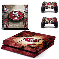 San Francisco 49ers NFL PS4 Skin