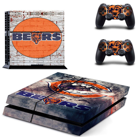Chicago Bears NFL PS4 Skin