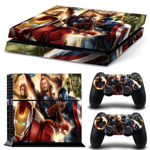 The Avengers PS4 Skin