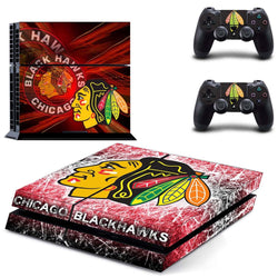 Chicago Blackhawks NHL PS4 Skin