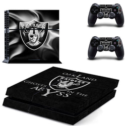Oakland Raiders NFL PS4 Skin