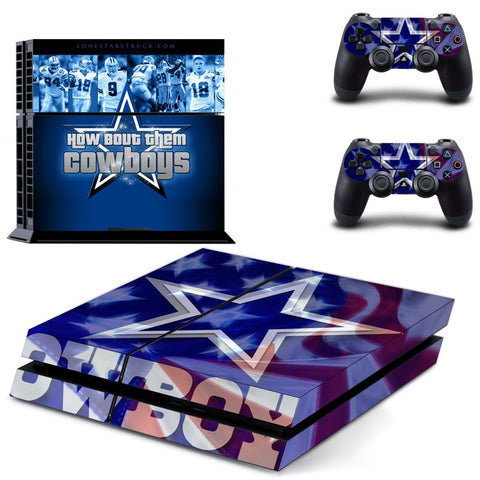 Dallas Cowboys NFL PS4 Skin
