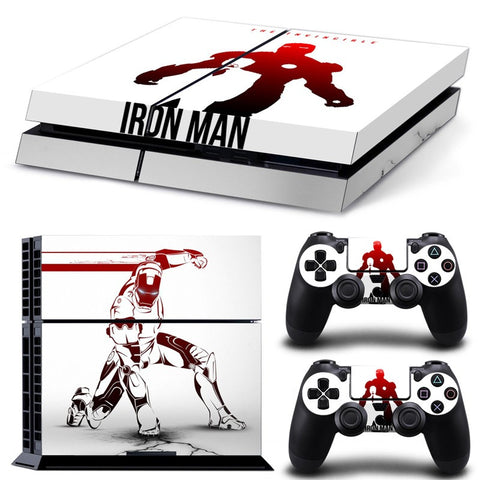 Iron Man PS4 Skin
