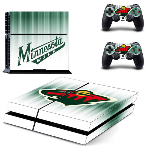 Minnesota Wild NHL PS4 Skin