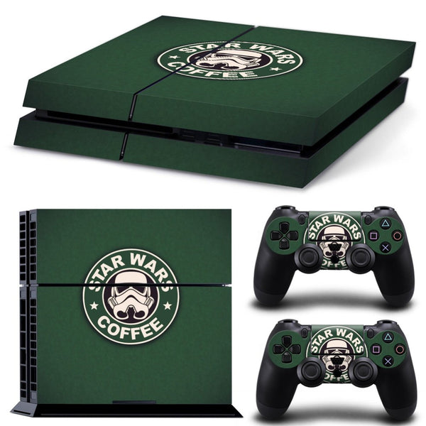 Star Wars Coffee PS4 Skin