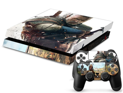 The Witcher PS4 Skin