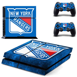 New York Rangers PS4 Skin