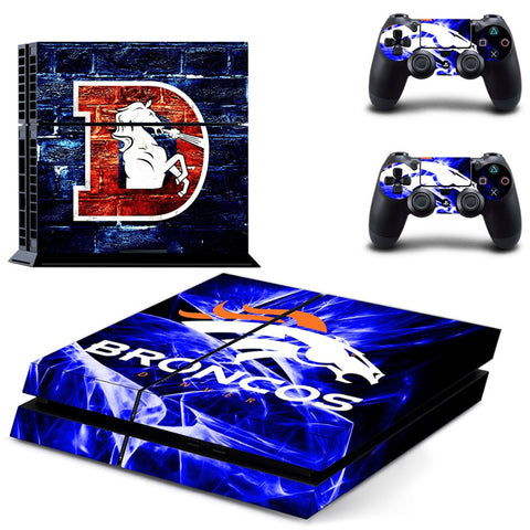 Denver Broncos NFL PS4 Skin