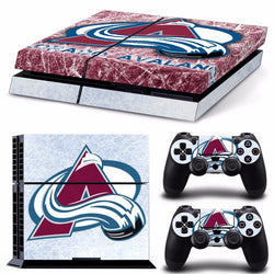 Colorado Avalanche NHL PS4 Skin