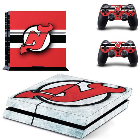 New Jersey Devils NHL PS4 Skin