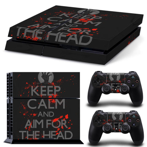 Keep Calm - Zombies PS4 Skin