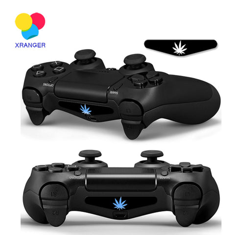 Weed LED Light Decal PlayStation 4 Controller