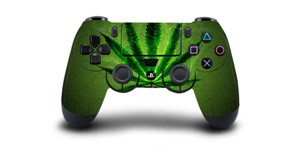 420 PlayStation 4 Controller Skin