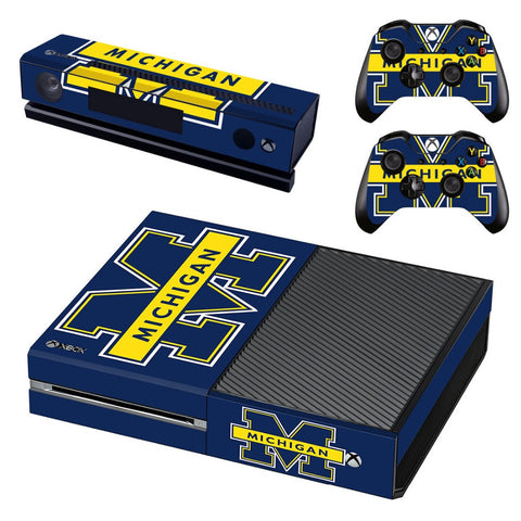 University of Michigan Xbox One Skin