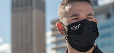 Rocket Companies Face Masks Now Available